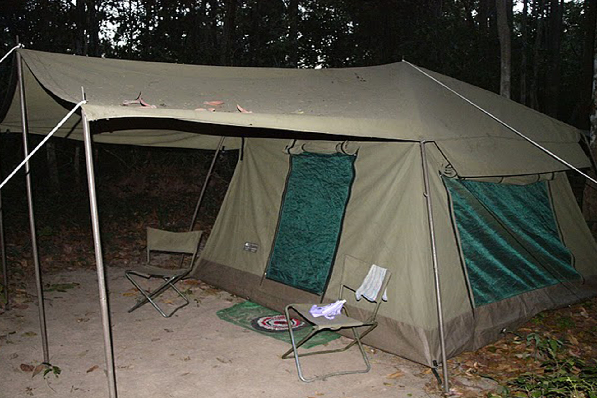 Tent at Boeng Toal
